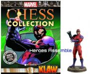 Marvel Chess Collection #31 Klaw Eaglemoss Publications